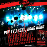 Duran Duran - Pop TV Arena Hong Kong (back cover)