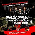 Duran Duran - Super Bock Festival Lisbon (cover)