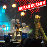 Duran Duran - O2 Arena London (cover)