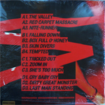 Duran Duran - Red Carpet Massacre 2LP (back cover)