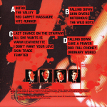 Duran Duran - Live On The Red Carpet 2LP (back cover)