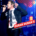 Duran Duran - Sydney Entertainment Centre (cover)