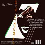 Duran Duran - Candy Bar Ranch 2009 (back cover)