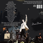 Duran Duran - Edinburgh Castle 2009 (back cover)