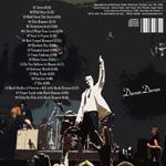 Duran Duran - Edinburgh Castle 2009 (back cover)