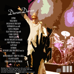 Duran Duran - Fillmore 2009 (back cover)