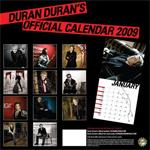 Duran Duran - Calendar 2009 (back cover)
