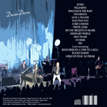 Duran Duran - Orange County 2009 (back cover)