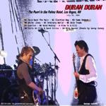 Duran Duran - The Pearl Las Vegas (back cover)
