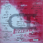 Duran Duran - All You Need Is Now 2LP (back cover)