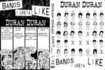 Duran Duran - Bands I Useta Like (cover)