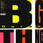 Duran Duran - Big Thing 2LP (back cover)