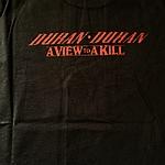 Duran Duran - View To A Kill 2010 T-shirt (back cover)