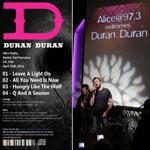 Duran Duran - Alice Radio Concert (back cover)