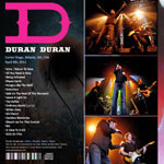 Duran Duran - Center Stage Atlanta (back cover)