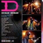 Duran Duran - Center Stage Atlanta (back cover)