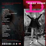 Duran Duran - Shepherd´s Bush Empire (back cover)
