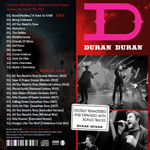 Duran Duran - All You Need Is O2 Arena (back cover)