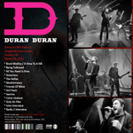 Duran Duran - BBC Radio 2 Broadcast (back cover)