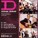 Duran Duran - The Bleu Room (back cover)