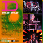 Duran Duran - Royale Theatre Boston (back cover)