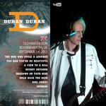 Duran Duran - Bournemouth Old Firestation (back cover)