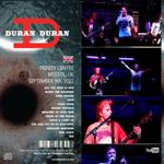 Duran Duran - Bristol Trinity Centre (back cover)