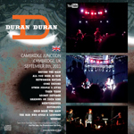 Duran Duran - The Cambridge Junction (back cover)