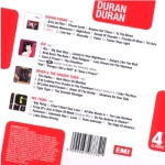 Duran Duran - 4 Albums In 1 (back cover)