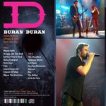 Duran Duran - HOB Chicago (back cover)