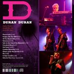 Duran Duran - Ogden Theatre Denver (back cover)