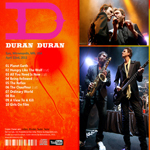 Duran Duran - Epic Minneapolis (back cover)