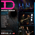 Duran Duran - Foxwoods MGM Grand (back cover)