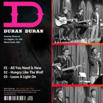 Duran Duran - Grammy Museum (back cover)