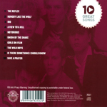 Duran Duran - 10 Great Songs (back cover)