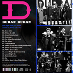 Duran Duran - ITV One Night Only (back cover)