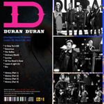 Duran Duran - One Night Only (back cover)