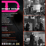 Duran Duran - Jimmy Kimmel Show (back cover)