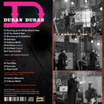 Duran Duran - Jimmy Kimmel Show (back cover)