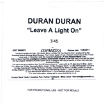 Duran Duran - Leave A Light On (cover)