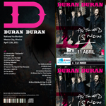 Duran Duran - Mexico City (back cover)