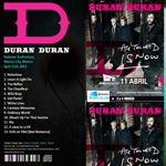 Duran Duran - National Auditorium Mexico City (back cover)