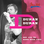 Duran Duran - Mix 100 FM Hard Rock Cafe (cover)