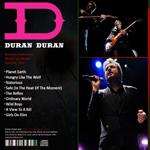 Duran Duran - Banamex Auditorium Monterrey (back cover)