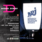 Duran Duran - NRJ Fashion Night (back cover)