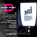 Duran Duran - NRJ Fashion Night (back cover)
