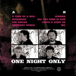 Duran Duran - One Night Only LP (back cover)