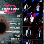 Duran Duran - O2 Oxford Academy (back cover)