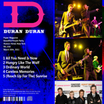 Duran Duran - Paper Magazine Party (back cover)