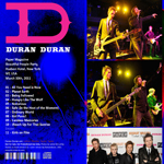 Duran Duran - Full Paper Magazine Party (back cover)